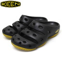Regular dealer KEEN( Kean) MEN YOGUI SANDAL( men yogi sandals) BLACK KN001