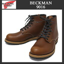 Shipping & cash on delivery fee free regular RED WING Red Wing distributor 9016 BECKMAN ROUND BOOTS (ベックマンラウンド boot) Cigar Feather stone Leather
