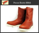 Shipping & cash on delivery fee free regular handling Shop Red Wing (Redwing Red Wing) 8866 9 inch PECOS BOOTS (Pecos) Oro Russett (red tea)