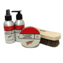 Regular handling shop RED WING (Redwing) table for leather ブーツケア 4-piece set type 2 (conditioner protector cleaner brush)