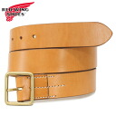 Japan domestic shipping COD fees free regular handling shop RED WING (Redwing) 96563 Leather Belt (leather belts) 40 mm Tan