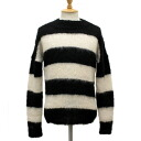 Postage, collect on delivery fee free regular dealer SEDITIONARIES( セディショナリーズ) Mohair Jumper( mohair jacket mohair sweater) black x white STM014fs3gm
