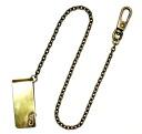 정규 취급 gancho (ガンチョ) MONEY CLIP CHAIN 머니 클립 체인 609 골동품