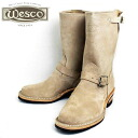 Shipping & cash on delivery fee free regular dealer Wesco Wesco Limited Edition 10 inch Height Narrow Engineer Boots narrow Engineer Boots Burlap Rough Outfs3gm