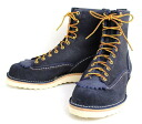 Postage, collect on delivery fee free regular dealer Wesco waste co-Jobmaster jobmaster Navy Rough Out navy rough out, Lace to Toe, 8height,#1010sole JM38fs3gm