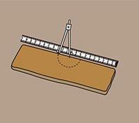 ロッドソーでかるかるブリックをカットすり方法