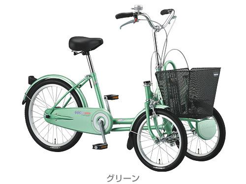 ... 三輪自転車【低速走行のための