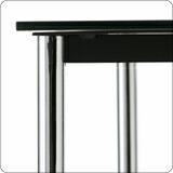 ル・ コルビジェ LC10ガラステーブル(70×70×37)