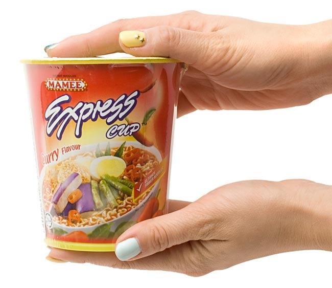 インスタント ヌードル カレー味 カップ 付き 【MAMEE】 | マレーシア料理 カップヌードル 食品 食材 エスニック アジア インド