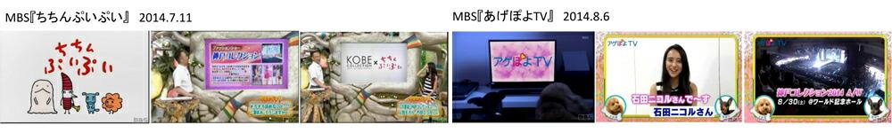 MBS「ちちんぷいぷい」&「アゲぽよTV」