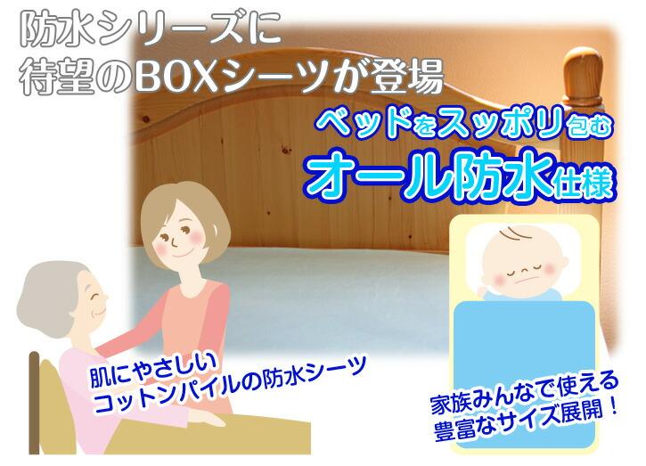 BOXシーツ登場
