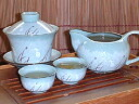 A cover porcelain bowl set (crane):