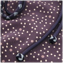 Then it is ♪ pure silk fabrics obi cord obi bustle set - dot purple 087