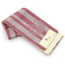 "Reversible Obi ""chic and trendy"" yukata belt-stripe and floral print pink"