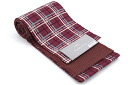 Stylish strip of cotton [kimono * Cafe] check red purple