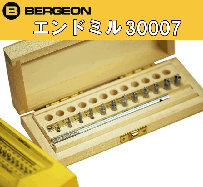 ベルジョンBERGEON30007エンドミル