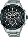 "SEIKO ASTRON SBXB011 ""solar GPS 8X series stainless steel model"""