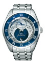 "CITIZEN CAMPANOLA BU 0020-54 A ""Eco-Drive Navy Blue lapis lazuli-so rURI-"""