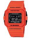 "CASIO g-shock DW-D5500-4JF ""Rescue Orange Series (Rescue Orange series)"""
