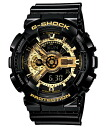 "CASIO g-shock GA-110GB-1AJF ""Black×Gold Series"""