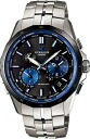 "CASIO OCEANUS OCW-S2400E-1AJF ""Manta smart access-based BLACK MANTA """