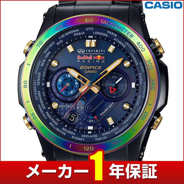 【楽天市場】★送料無料 Casio カシオ Edifice エディフィスinfiniti Red Bull