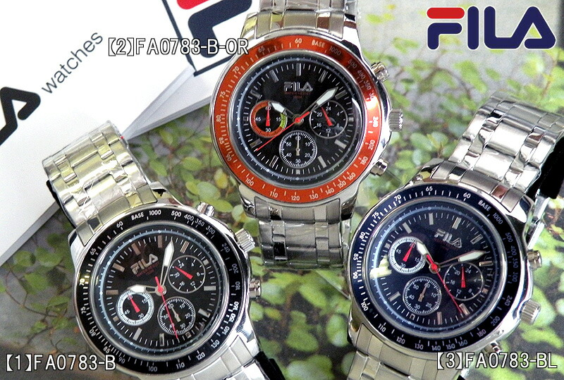 Watch store kato tokeiten rakuten global market please choose the fila fa0783 cortina your for Fila watches