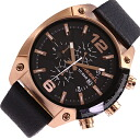 DIESEL / diesel DZ4297 watch / leather belt / men's