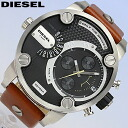 DIESEL / diesel DZ7264 / watches / mens / waterproof leather