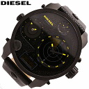 DIESEL/ diesel DZ7296/ watch / men / waterproofing / leather