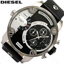 DIESEL/ diesel DZ7256/ watch / men / waterproofing / leather