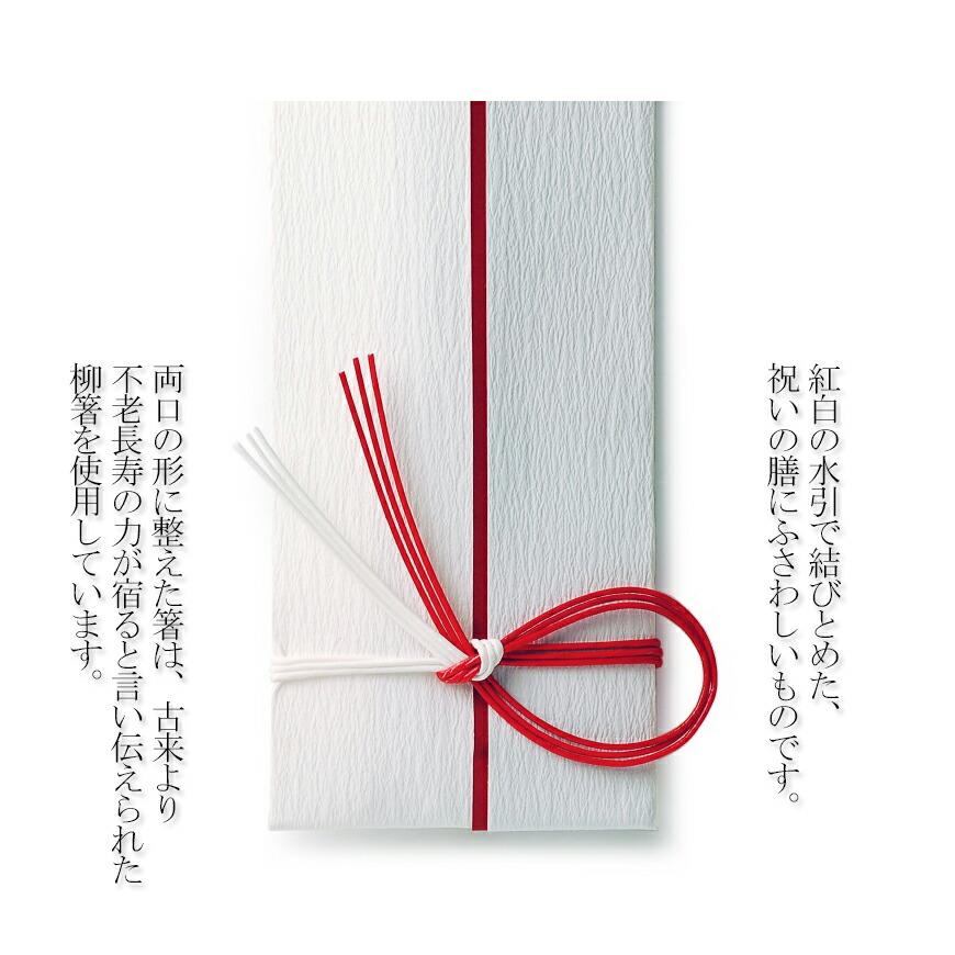 祝い箸意匠