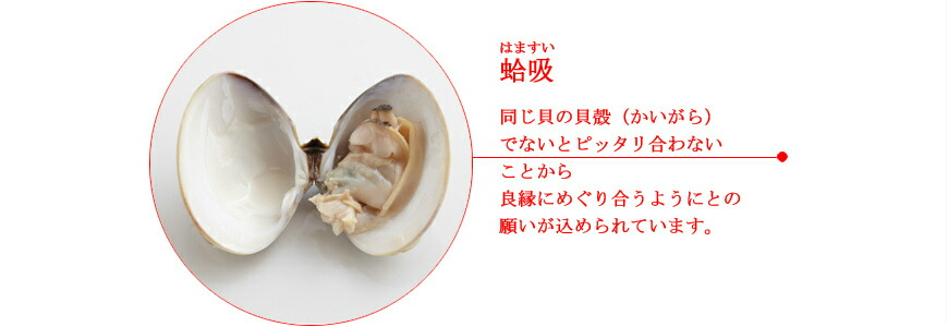 お食い初め 献立14蛤
