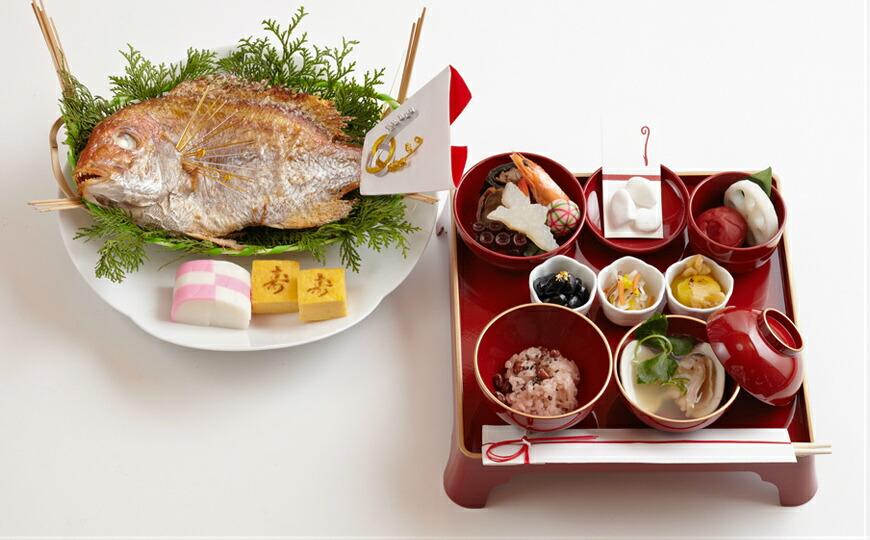 お食い初め料理セット お食い初め膳01イメージ