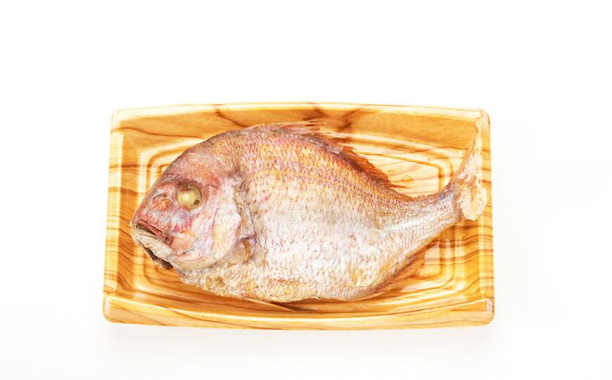 天然祝い鯛姿焼き セットイメージ