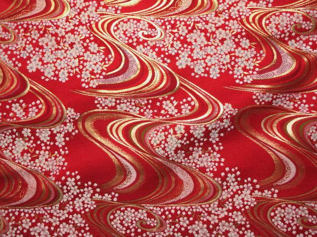红色) (日本花纹织物日本设计日本