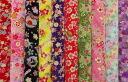 Great bargain! Kyoto Yuzen Kim Sai crepe fabrics 10 piece set (4) / mekari / Japanese fabric and Japanese pattern fabric / Japanese pattern / Japanese / 10P30Nov13