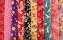 A bargain! Kyoto Yuzen Kim Sai crepe fabrics 10 piece set (6) ( mekari Japanese fabric Japanese pattern fabric Japanese pattern Japanese style ) 05P08Feb15