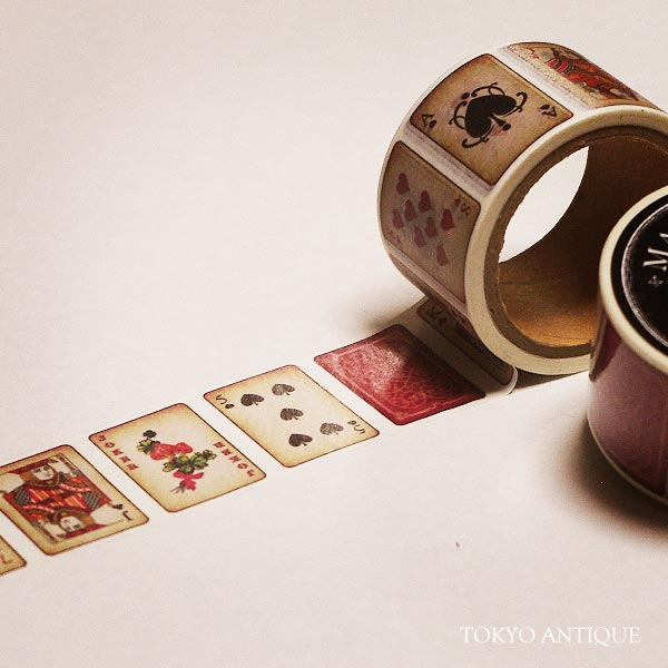 トランプのマスキングテープ