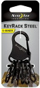 NITEIZE / key rack steel Black Knight is the popular kiluk appeared in a tough steel model