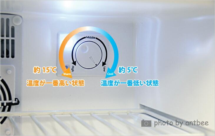 温度設定ダイヤル