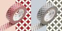 CAMI mt masking tapes mt Pack cloisonne, red x 煤色 [MT02D059]