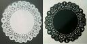 Lace sticker 100 mm type white / black