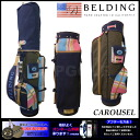 ★ campaigns conducted during ★ CAROUSEL waxed cotton TOP DESIGN 9.5-golf bag