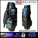 BUSHWHACKER black X navy green 9.5 type (HBCB-95021) caddie bag