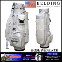 ★★ BUSHWHACKER white 9.5 type (HBCB-95022) caddie bag during the name embroidery discount