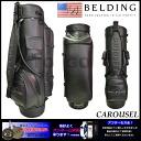 CAROUSEL black 8.5 type (HBCB-85025) caddie bag