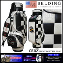 CRUZ CHECKER BOAD 9.5 type (HBCB-95032) caddie bag