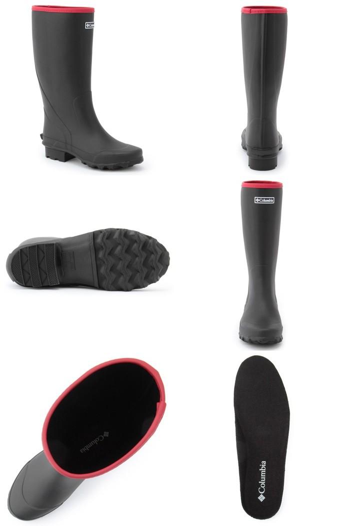 コロンビア Columbia 長靴 ラディソフト ブラック YU3777-010