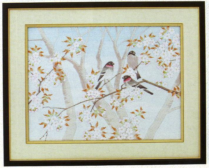 東京文化刺繍キット33「春うらら」(3号)